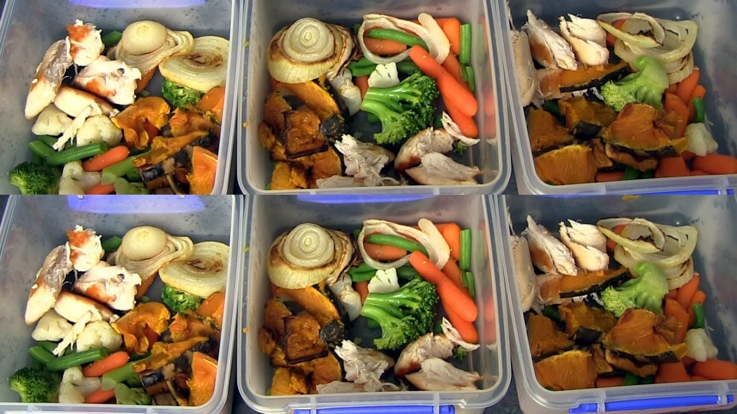 Sample Meal Plan for Weight Loss and Weight Gain
